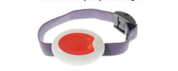 bracelet sécurité d'alarme